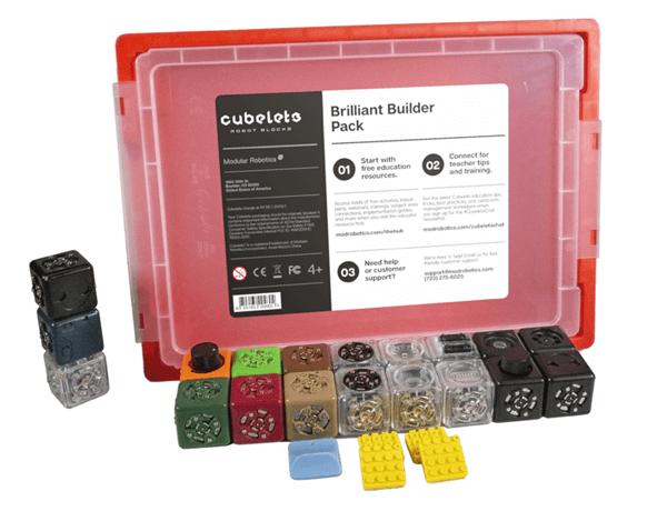 Cubelets Brilliant Builder Set.