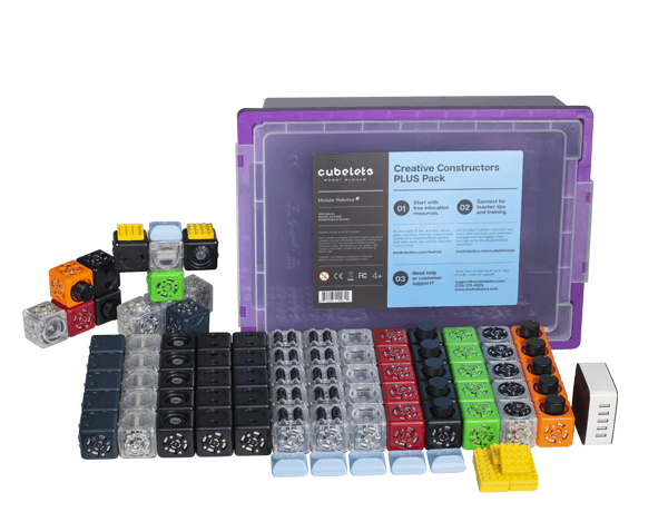 Cubelets Creative Constructors PLUS Pack.