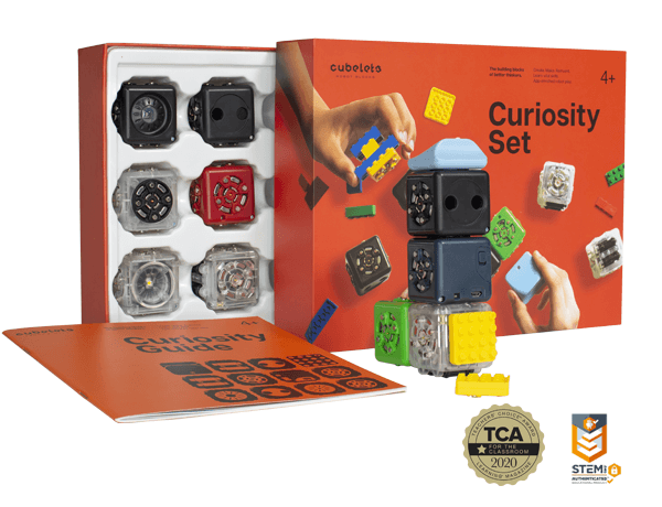 Cubelets Curiosity Set - box and robot blocks