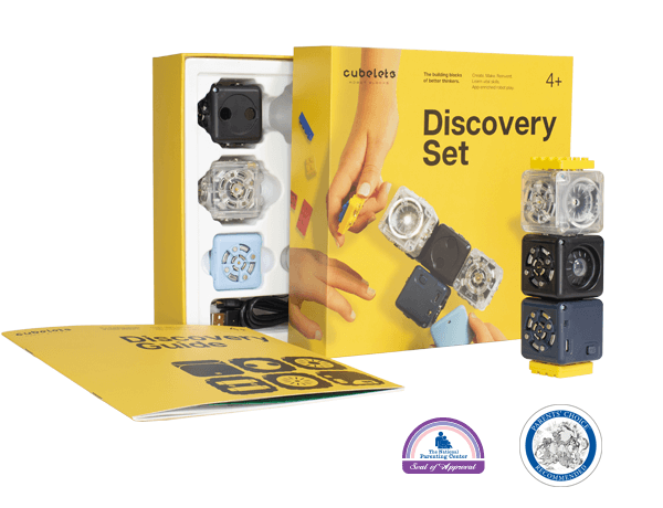 Cubelets Discovery Set - box and robot blocks