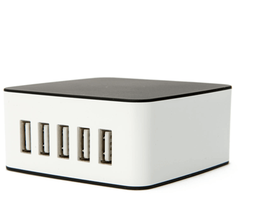5-port USB Charger for Cubelets