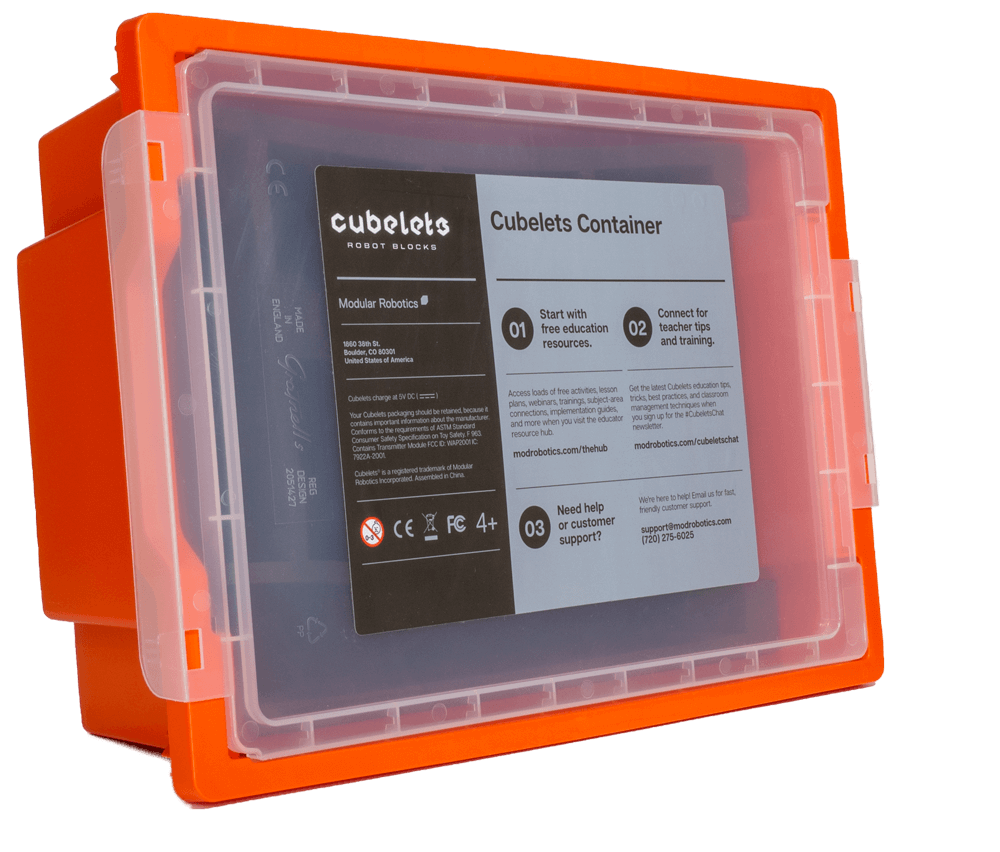 Cubelets Container - Orange