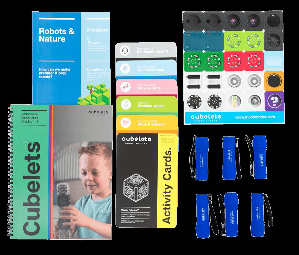 Cubelets Lesson Plan Bundle: Grades 1–3