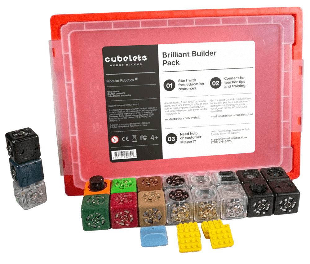 Cubelets Brilliant Builder Pack.