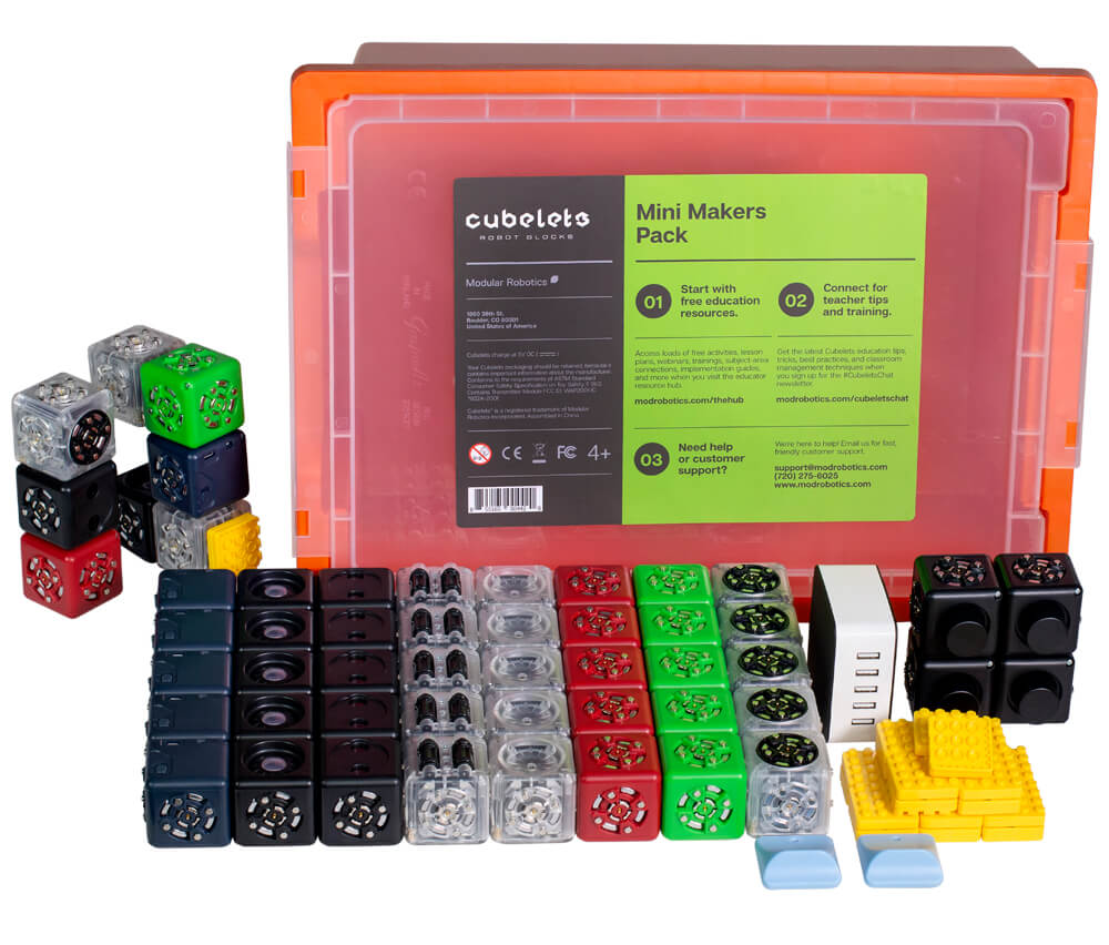 Cubelets Mini Makers Pack.