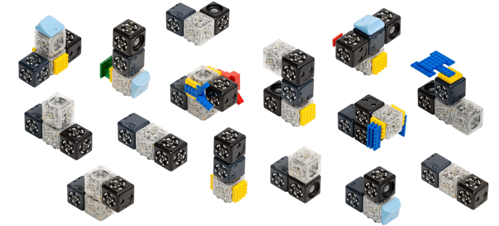 Build thousands of robots with Cubelets robot blocks.
